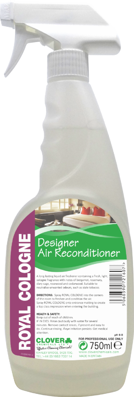 Clover Royal Cologne - 'Designer' Fragrance Air Freshener
